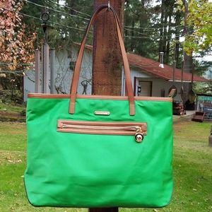 Michael Kors Green Kempton Tote Bag